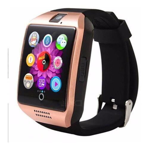 Smart Watch - Q18 Bluetooth Sim Carte - Gold