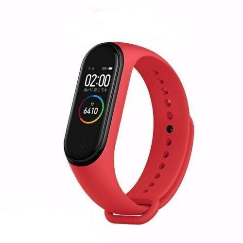 Smart Bracelet - M5 - Fréquence Cardiaque - Rouge