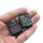 Pack 02 Batteries Pour Smart Watch - 380 Mah
