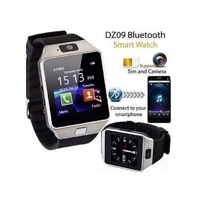 Reliance Montre Smart Watch - Dz09 - Bluetooth- Carte Sim - Caméra - Silver