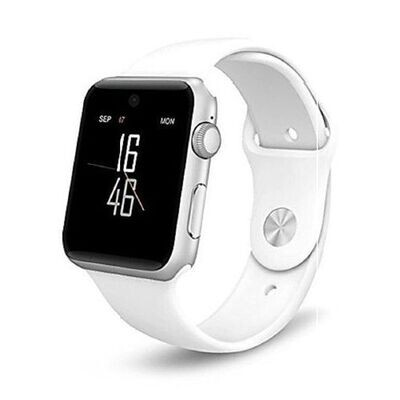 Smart Watch - A1 - Bluetooth - Camera - Sim - Blanc