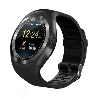 Smart Watch - Y1 - Bluetooth - Sim Carte - Noir