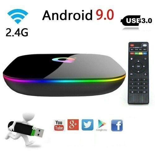 Mr Smart Tv Box Tv Box - Q+ - Android Tv 6K 4+32 Gb Rom - Noir