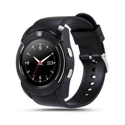 V8 Smart Watch Bluetooth - Montres Intelligentes - Sim Carte - V8 - Noir.