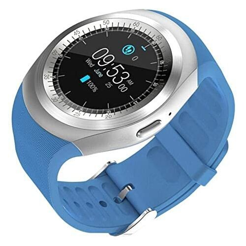 Reliance Smart Watch - Y1 - Bluetooth - Sim - Bleu