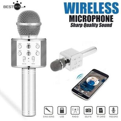 Microphone - WS-858 - Silver