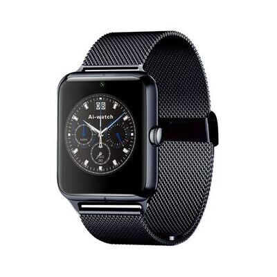 Smartwatch - Gt08  Metal - Bluetooth - Camera - Sim - Noir