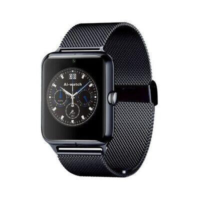 Smart Watch Smartwatch - Gt08 Metal - Bluetooth - Camera - Sim - Noir