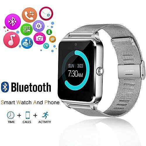 Smartwatch - GT08 Metal - Bluetooth - Camera - Sim - Silver