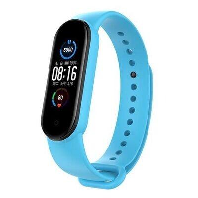 Smart Bracelet - M5 - Fréquence Cardiaque - Bleu