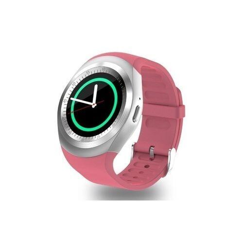 Smart Watch - Y1 - Bluetooth - Sim Carte - Rose