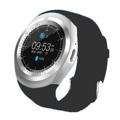 Smart Watch - Y1 - Bluetooth - Sim - Noir - Silver