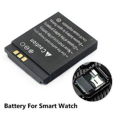 Batterie Smart Watch Dz09 A1 Y1 V8 Q18 - 380Mah - Noir