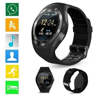 Smart Watch - Y1 - Bluetooth - Sim - Noir