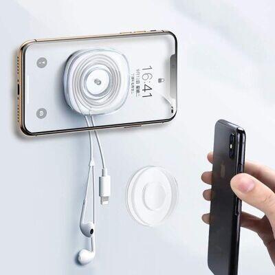 Support De Téléphone Portable De Voiture Collant Nano Gel Pad Traceless Stickers Magiques Lavable Antidérapant Smartphone
