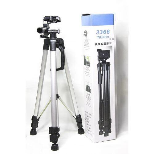 Trépied 3366 HP pour appareil photo à montage sur trépied - Noir