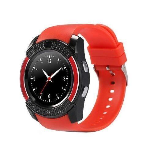 Smartwatch - K3 - Bluetooth - Caméra - Sim Carte - Rouge