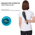 Wireless massage stick electric dolphin massage hammer handheld charging shoulder neck massage stick