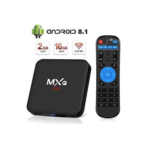 TV Box 4K - MXQ - 4K 1+8GB ROM - Noir