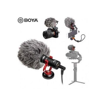 Boya Microphone By-Mm1 Pro Fusil À Cardio Universel Pour Vidéo - Noir