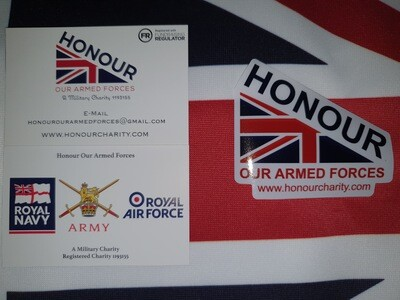 Honour Car Sticker