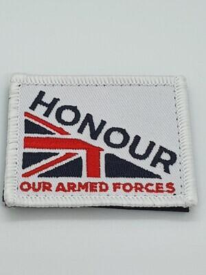 Honour Woven Velcro Patch