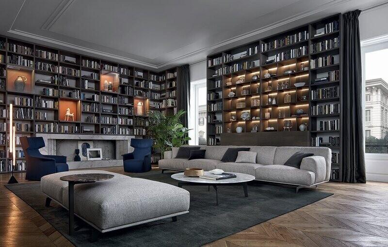 CROSBY 4 seater ottoman sofa