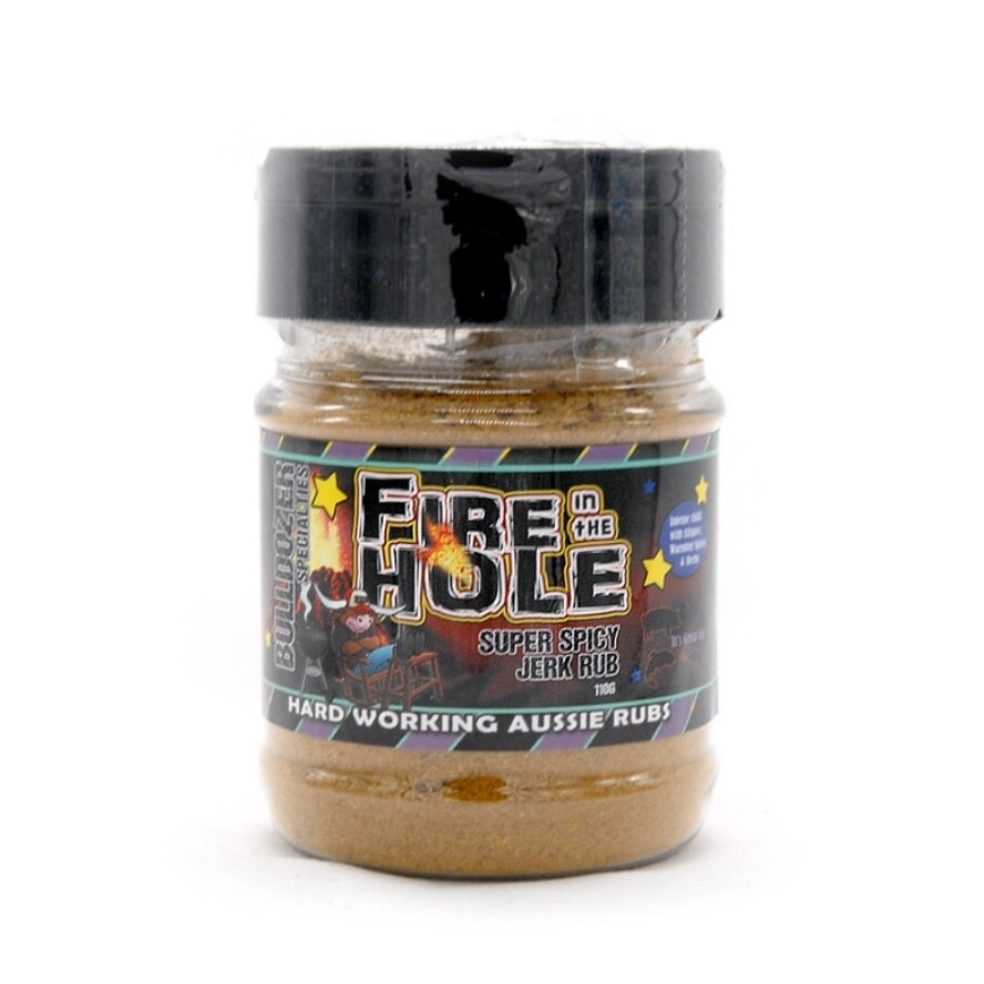Fire in the Hole - Spicy Jerk Style BBQ Rub