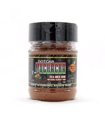 Gotcha Muchacha - Super Flavourful Tex-Mex Rub.  Low heat!