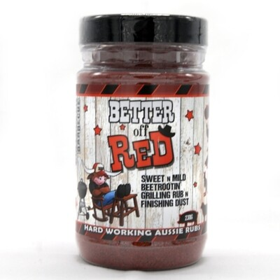 Better Off Red - the 1st Beetroot Rub. Ever