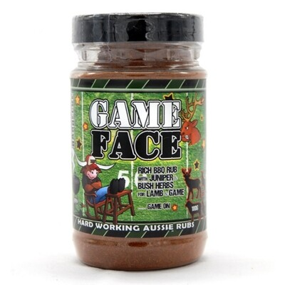 Game Face - Rich & Woodsy Rub for Game & Lamb