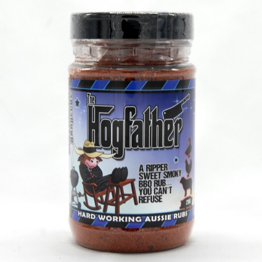 Hogfather - A Sweet, Smoky Rub You Can't Refuse