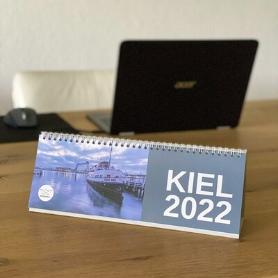 Tischkalender Kiel 2022