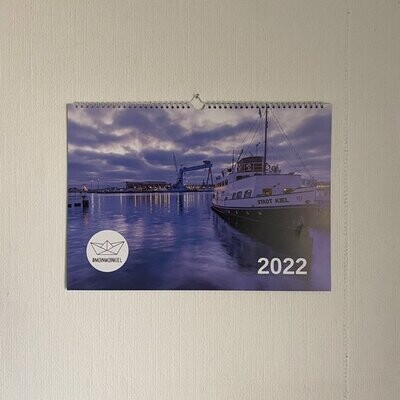 Wandkalender DIN A3 - Kiel 2022