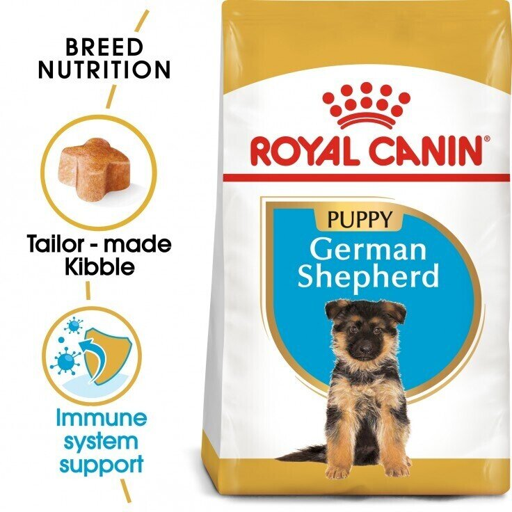 BREED HEALTH NUTRITION GERMAN SHEPHERD PUPPY