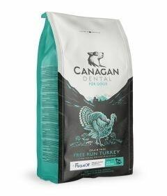 Canagan Free Run Turkey Dental Dogs Dry Food. 12 kg