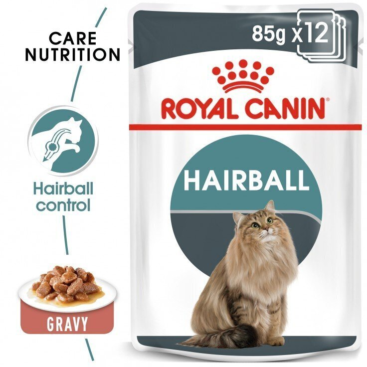FELINE CARE NUTRITION HAIRBALL GRAVY (WET FOOD - POUCHES)