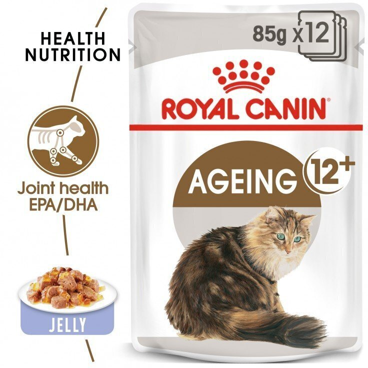 FELINE HEALTH NUTRITION AGEING +12 JELLY (WET FOOD - POUCHES)