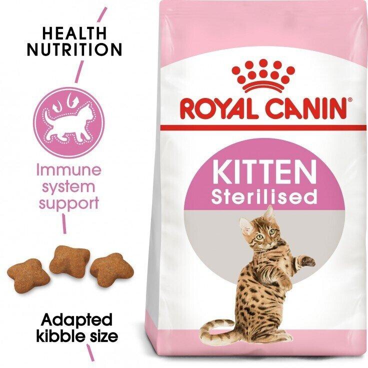 FELINE HEALTH NUTRITION KITTEN STERILISED 2 KG