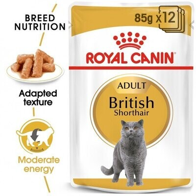 FELINE BREED NUTRITION BRITISH SHORTHAIR (WET FOOD - POUCHES)