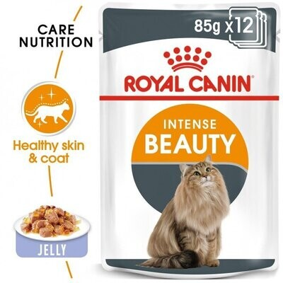 FELINE CARE NUTRITION INTENSE BEAUTY JELLY (WET FOOD - POUCHES)