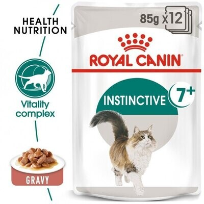 FELINE HEALTH NUTRITION INSTINCTIVE +7 GRAVY (WET FOOD - POUCHES)