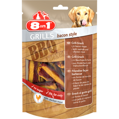 8in1 GRILLS Bacon Style 80g 32 XZ