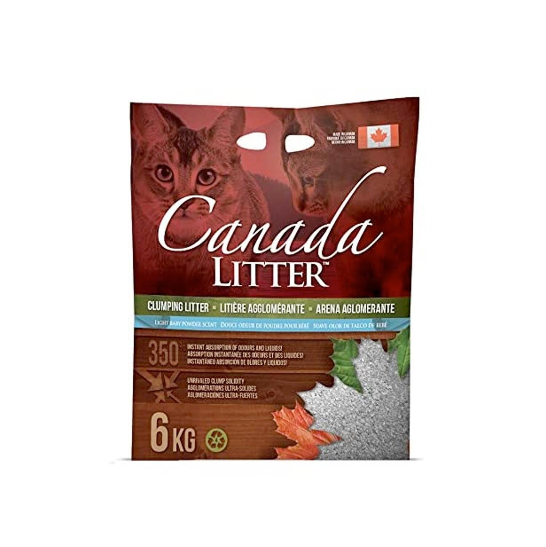 Canada Litter 6KG – Baby Powder
