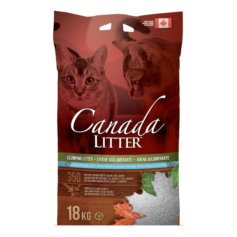 Canada Litter 18KG – Baby Powder