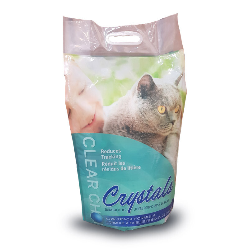 Clear Choice Silica Crystal Cat Litter 30L (13.6kg)