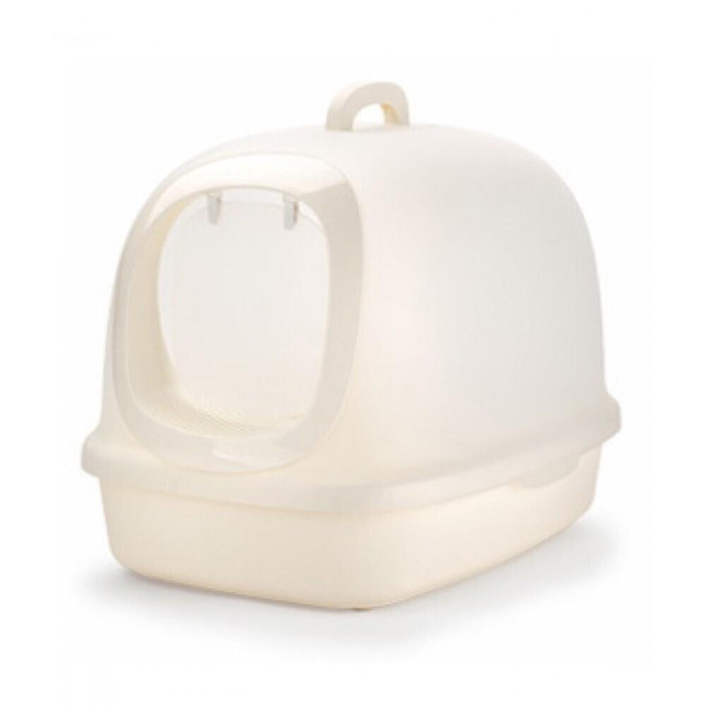 Nutra Pet Cat Toilets XXL Luxury Cat Litter Box Cream 62*46*44 Cm