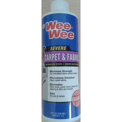 Four Paws Wee-Wee Carpet And Fabric Stain And Odor Destroyer 8z 236ML