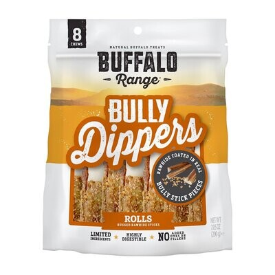 Buffalo Range Bully Dipped Roll For Dogs
