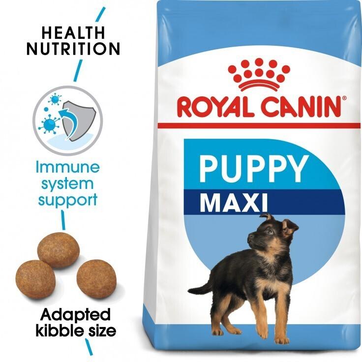 SIZE HEALTH NUTRITION MAXI PUPPY 15 KG